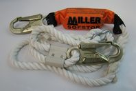 """Miller Sofstop-5/8"""" Dacron Rope Polyester Capacity:310lbs 0055135 903RLS-5/6FTWH"""