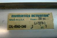 Numatics Actuator 250 psi GJ-72670-3 S2AL-05A6D-CAA0