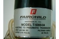Fairchild Electric To Pneumatic Transducer T-5000-04