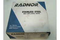 """Radnor Stainless Steel Mig Welding Wire Plastic Spool Coiled Wire .035"""" 316L 640"""