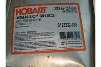 50# Can Hobart Hoballoy 3/32in 8018C2 S125232-035 Welding Rod Electrode
