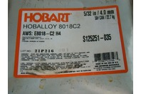 50# Can Hobart Hoballoy 5/32in E8018-C2 H4 S125251-035