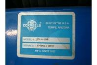 """Coxreels Hose Reel, Hand Crank, 1/2"""" Hose ID, 200' Length 19970513 0597 125-4-20"""