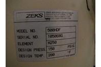 Zeks Air Drier 105068G M250 150psig 699379 500HDF
