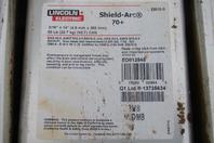 (56) Lincoln Electric Shield Arc 70+ 3/16'' x 14'' 50lbs/can ED012845