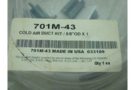 "COLD AIR DUCT KIT 5/8"" OD X 1"