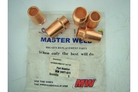 "MASTER WELD GAS NOZ FIXED 5/8"" SUIT TW4   MW 24CT-62S (5 COUNT)"