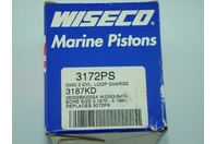 WISECO MARINE PISTON OMC/3 LOOP CHARGE  3172PS RINGS 3187KD