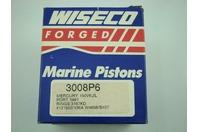WISECO MARINE PISTON  mercury 150v6, 2l 3008P6  rings 3187kdKD