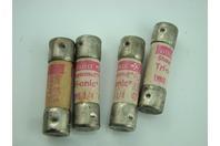 (4) Gould  Shawmut Tri-Onic - 250 Vac Fuses 10,000 Sc 6-14 Amp  Trm6 1/4