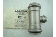 "VICTAULIC - VIC-PRESS SS 2""X2""X1"" P598 - TEE W/ REDUCING BRANCH"
