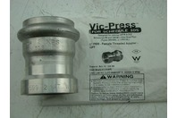 "VICTAULIC - VIC-PRESS SS 2"" P599-FEMALE THREADED ADAPTER - NPT"