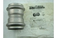 """VICTAULIC - VIC-PRESS SS 2"""" P597 COUPLING W/PIPE STOP"""