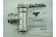 "VICTAULIC - VIC-PRESS SS 1"" P592 - TEE"