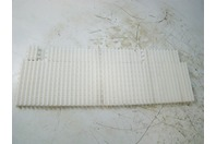 "Conveyor belt 8"" x 23"" white"
