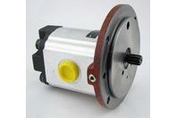 "Parker Hydraulic Pump 3349210024, .62""Od Shaft, 3/4"" Ports"