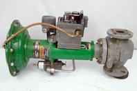 "Fisher Actuator Valve ,Class F, 1 1/2 "" size 30, Travel 3/4, Type 657"