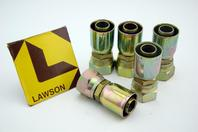 (5) Lawson 3/4 x 1-1/16 E-Series Hydraulic Fitting Female SAE Flare 29102