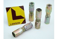 (4) Lawson 3/8x3/8 Crimp Fitting female Pipe 88331