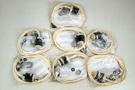 (7) Hubbell 277V 4' Cord Hook/Loop & 20A Plug, SuperBay Lights 16331007 BLAC4HL