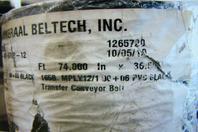 """Ammeraal Beltech 74"""" Wonder/Hostess Transfer Conveyor Belt"""