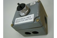 Vacuum Blower Selector Switch