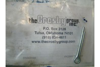 """The Crosby Group 3/8"""" x 111' Wire Cable Winch Lead w/ Tow Hook"""
