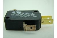 Microswitch V7-7B17D8-201 | 250 VDC | 1/3HP
