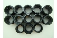 (61 pcs) Heyco SB-1.500-21 BLACK SNAP BUSHINGS