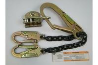 """FallTech Rebar Positioning Lanyard 2.5"""" Gate Opening & 5/8"""" Rope Grab"""