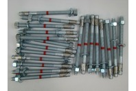 "(20 pcs) 1/2"" x 7"" HILTI KB-TZ SS304 SS316 Masonry Wedge Anchor Bolt"
