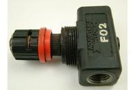 Ingersoll Rand Aro Adjustable Flow Control Valve , F02