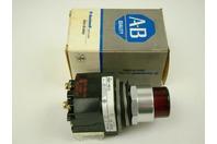 Allen-Bradley Red Industrial Control Pushbutton (120v, 50/60hz), 800T-PB16