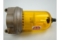 Schrader Bellow Pneumatic Lubricator (Max Inlet: 150 PSI, Max Temp: 120F), 3533-