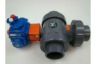"Compact Ball Valve with Hayward 2"" PVC (Max Pressure: 120 PSI, 8 Bar), C20 SR-2C"