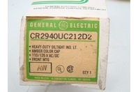 GE Heavy-Duty Oiltight Indicator Light 110/125V AC/DC, CR2940UC212D2
