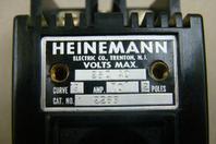 Heinemann Circuit Breaker 250vAC, Curve 9, 70A, 2 Poles, 2253