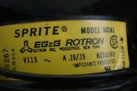 Sprite EG&G Rotron 115v , SU2A1