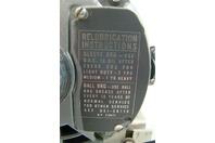 Gast 1/2HP Air Compressor 200vAC, 3PH, 1725 RPM, 50 PSI, 3.1cfm, 3LBA-22-M410X