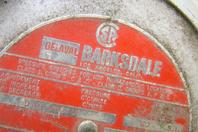 Delaval Barksdale 480V Pressure Switch 0.5-80 PSI, D1X-A80-UL
