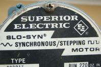 Superior Electrical Slo-Syn Synchronous/Stepping Motor 72 RPM, 120v, SS221T