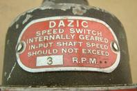 Dazic 10A Speed Switch Type B, 3 RPM, 120/250/480vAC, CI81212-5S