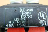 Buchanan Displacment Connector, 4/0-#2 B-Tap, AL9CU 600v, BTC4/0-2