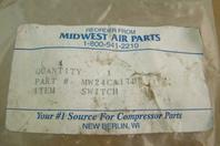 Midwest Air Parts On/Off Button Switch KLA1, MW24CA1793