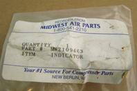 Midwest Air Parts Change Filter Indiciator Sight Glass , MW2109463