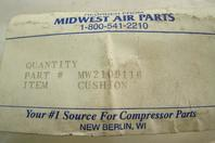 Midwest Air Parts Cushion , MW2109116