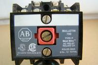 Allen-Bradley 10A AC/DC Relay 4-Pole 120v Coil Type P, Bulletin 700