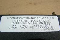 Weschler Instruments  Transformer  600.5 A Ratio, 600V, 50-400HZ , 8ST-601