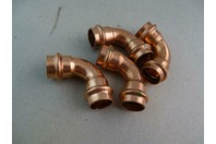 (4) Viega ProPress  Elbow Copper Fittings  EPC 3/4 , NSF-61