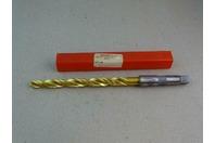 "Melcut Tools  .500"" Tin Coated Step Drill Bit, Morse Taper , HP-00103-4 REVJ"